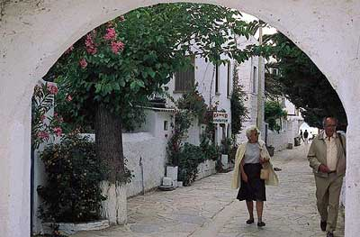 A Street of Bodrum
