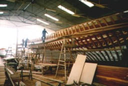 YACHT BUILDING IN BODRUM BOATYARDS